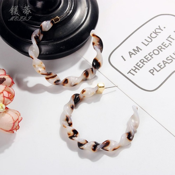 Urban Outfitters Jewelry - LAST ONE!! Twisty Hoops